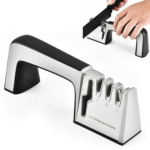 Afilador de cuchillos de cocina, chef profesional y afilado ...