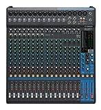 6 channel digital mixer - Yamaha MG20XU 20-Input 6-Bus Mixer with Effects