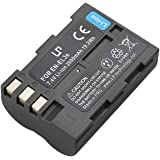 EN-EL3e Battery for Nikon D100, D200, D300, D300s, D50, D70, D70s, D700, D80 and D90 Camera, Replace the Nikon MH-18a Charger