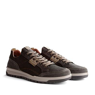 Travelin' Leder Dursley Komfort Herren SneakersBlauBraun RAL5j34q