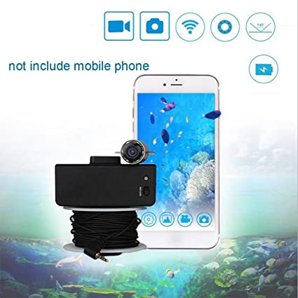 Cutepet Buscador De Los Pescados 2.4G Dispositivo De Pesca Video Inalámbrico Del Teléfono Móvil De