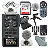 zoom h6 module - Zoom H6 Portable Recorder with Interchangeable Mic System Deluxe Bundle w/ Case + Remote + XPIX Tripod + 16GB + Windscreen + Batteries + Fibertique Cloth