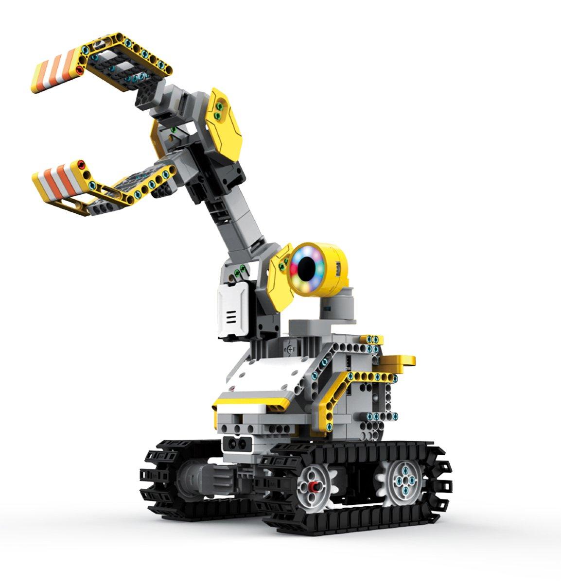 8 x 6 8 x 6 UBTech 303 Piece JR0405 Toys UBTECH Builderbots Kit Interactive Robotic Building Block System