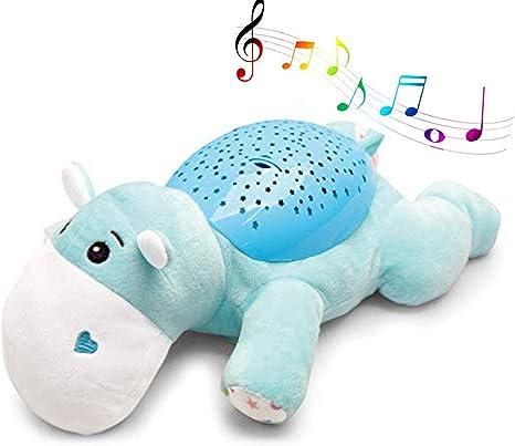 Music Felpa proyección Chupete, recién Nacido proyector de luz ...