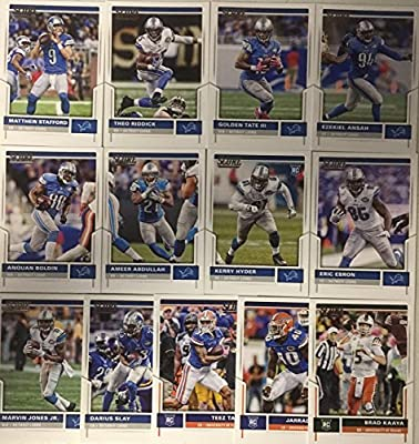 2017 Panini Score Football Detroit Lions Team Set 13 Cards W/Rookies