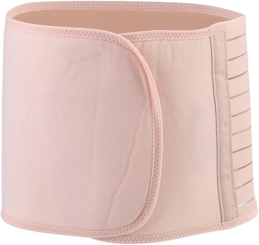 Zerodis Body Slimming Belt,Postnatal Belly Wrap Band Maternity Postpartum Waist Belly Recovery Belt Band for Post Pregnancy Women M