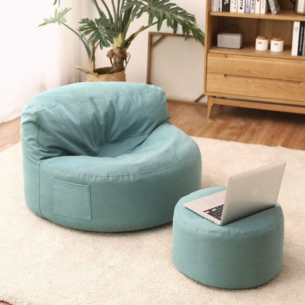Hushåll sengångare soffa sittväska stol sovrum enkel vardagsrum sovrum balkong lounge stol vuxen hög rygg inomhus (färg: grå) grå