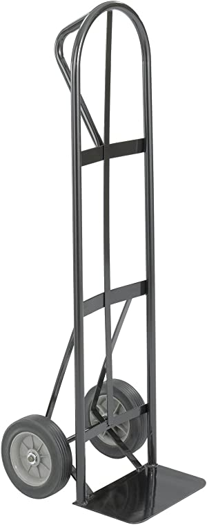 Safco Products Tuff Truck P-Handle Utility Hand Truck, Black