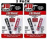 Tools & Hardware : J-B Weld 8265S Original Steel Reinforced Epoxy Twin Pack - 2 oz (Pack of 2)