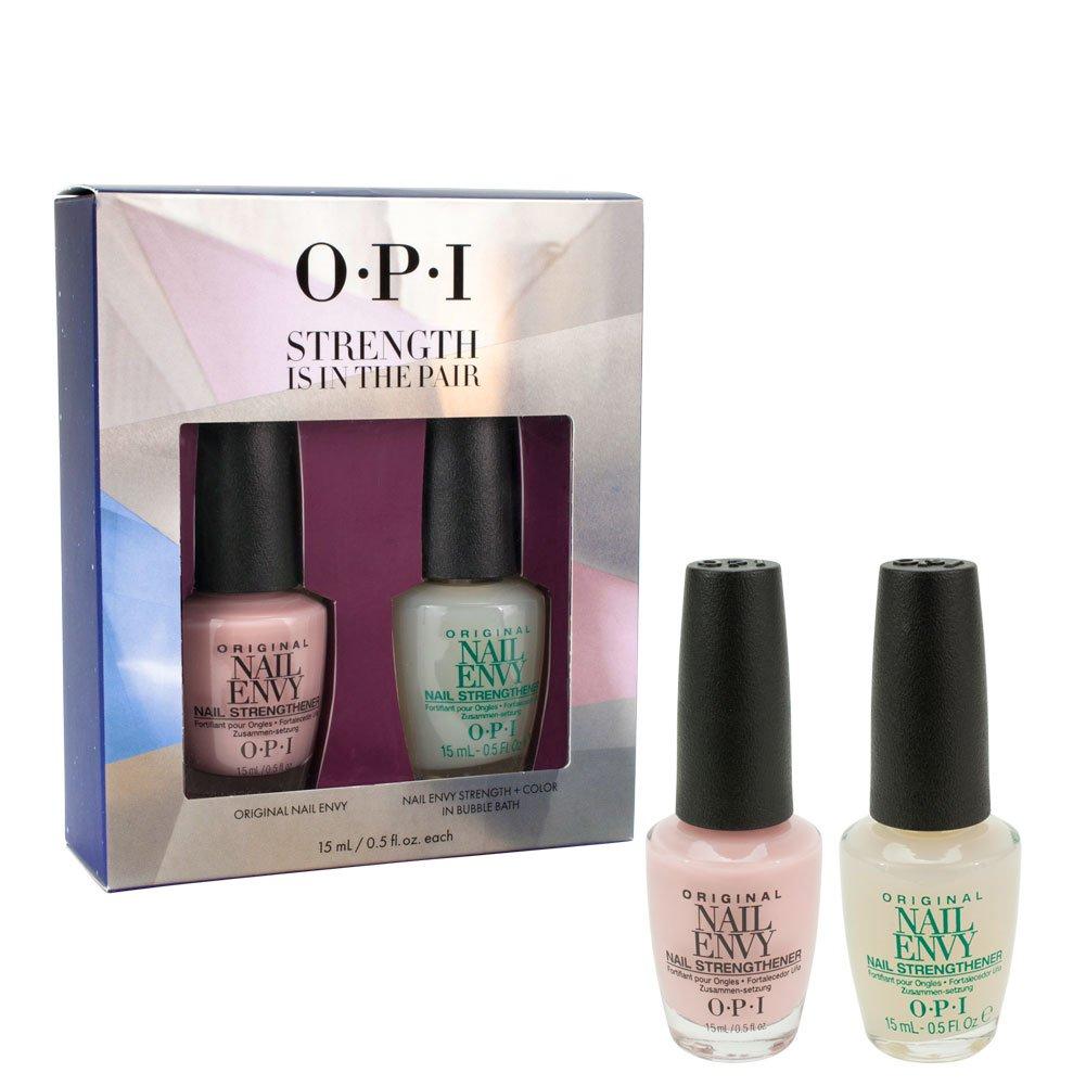 OPI- Strength Is In The Pair- Original Nail Envy & Nail Envy+ Color ...