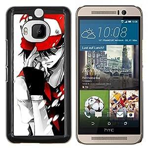 LECELL--Funda protectora / Cubierta / Piel For HTC One M9Plus M9+ M9 Plus -- Empuje Monster --