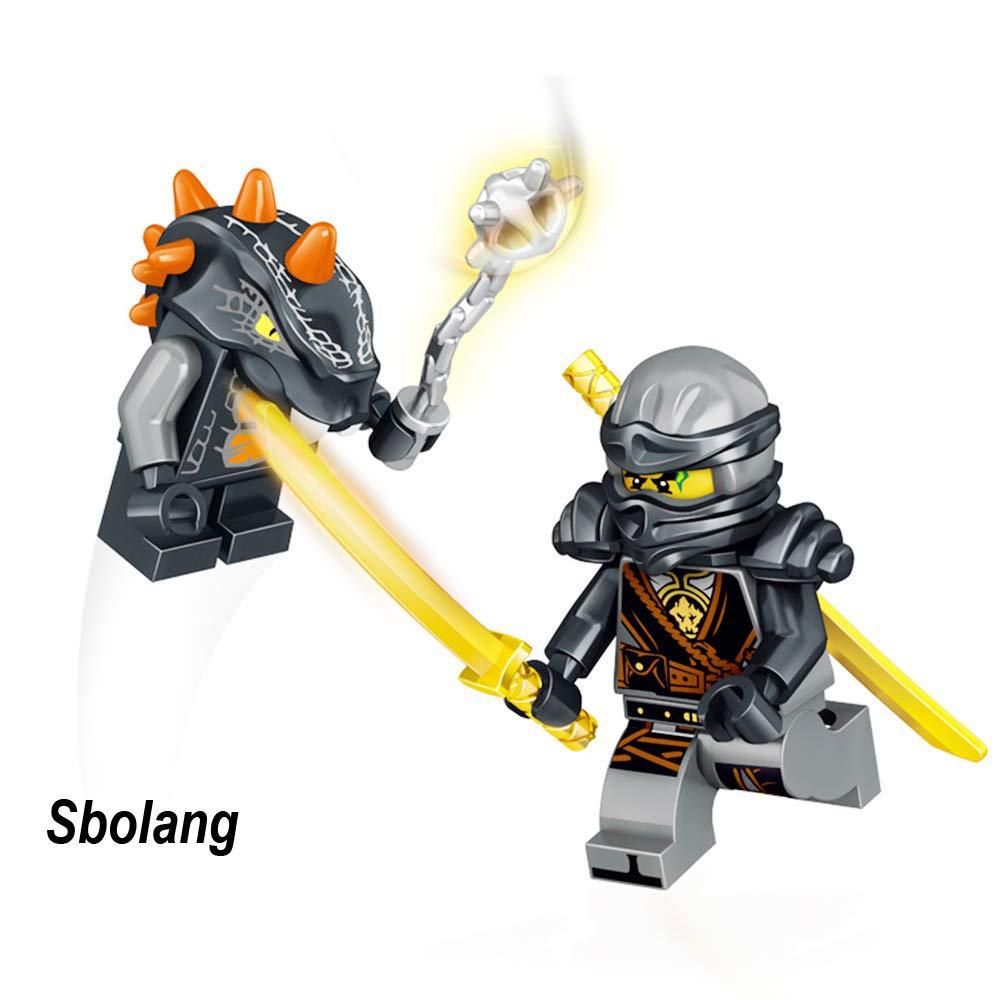 Sbolang Ninjago Mini Figures Building Blocks Toys Set (24pcs)