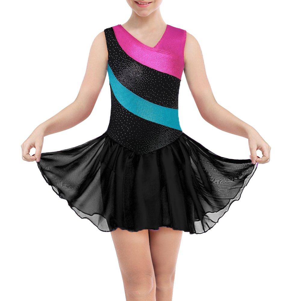 Roch valley danse jupe mousseline istD règlement uniforme examen Ballet prune iskirtj
