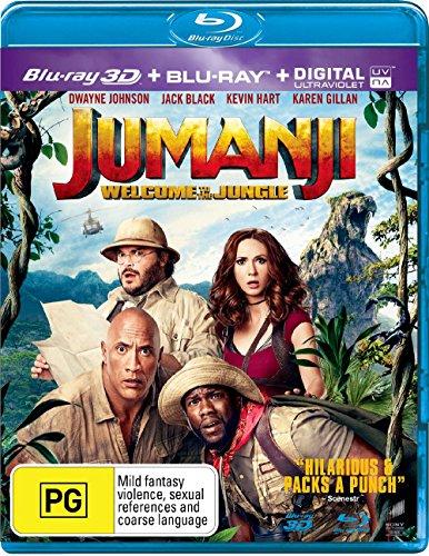 Jumanji: Welcome to the Jungle [Blu-ray]