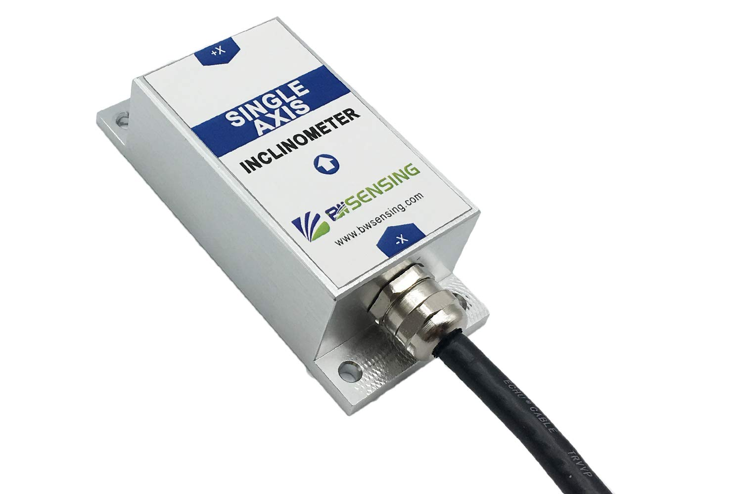 Bewis Single Axis Tilt Sensor BWM417 with Accuracy 0.01 Degree and RS232,RS485,TTL,Modbus Output