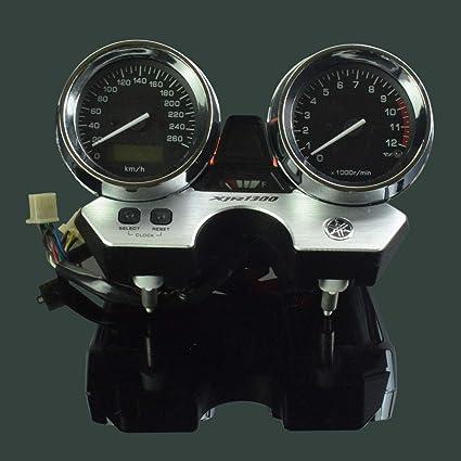 Amazoncom Motorcycle Lcd Tachometer Odometer Instrument