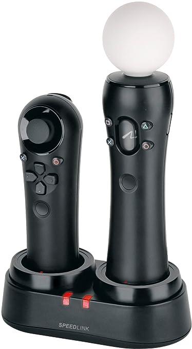 3 opinioni per Speedlink Twindock Move Caricatore per Gamepad per PS3, Nero