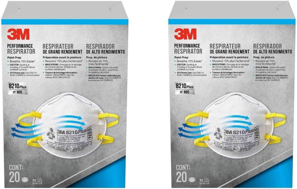3m masks n95 40 pack