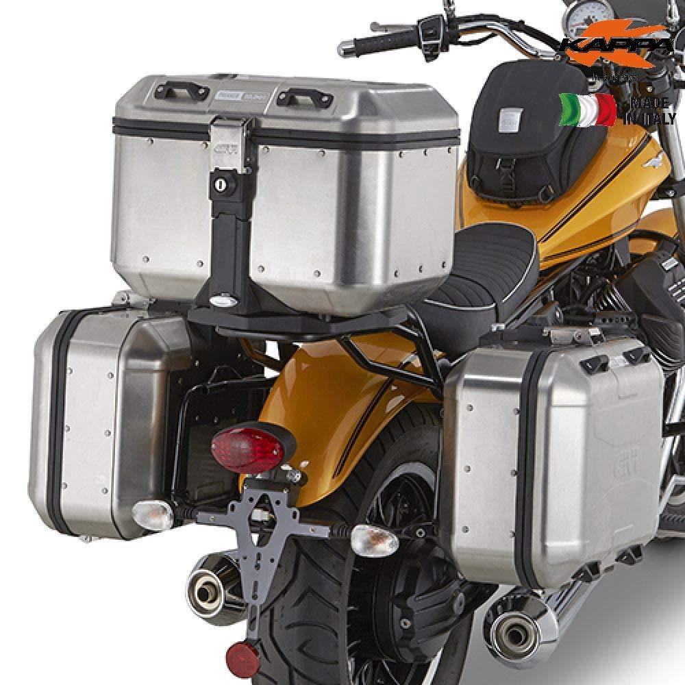 Kappa kl8202portavaligie Side MOTOGUZZI V9Roamer