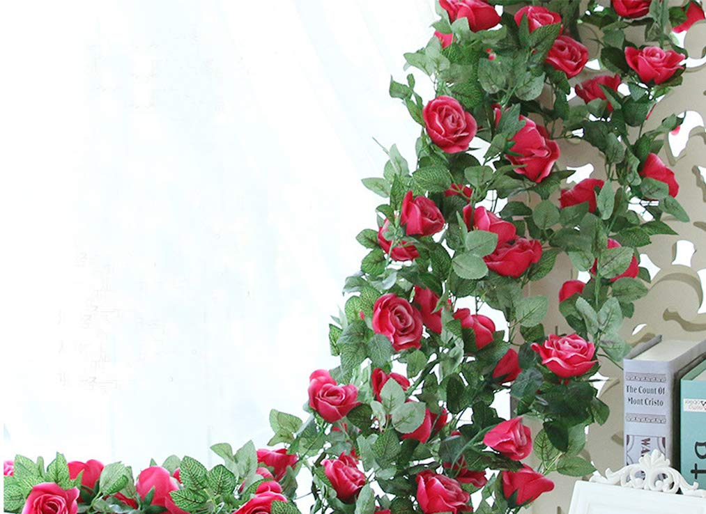 Lannu-2-Pack-Artificial-Rose-Vine-Flowers-Fake-Garland-Ivy-Flowers-Silk-Hanging-Garland-Plants-for-Home-Wedding-Party-Decorations