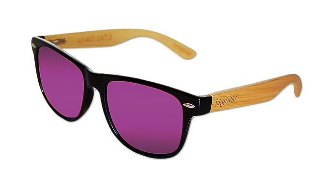 Skyfield Sunglasses Classic Shine Black - Purple - Gafas de sol polarizadas de hombre y mujer
