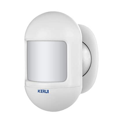 Amazon.com : KERUI P831 Mini PIR Motion Detector Easy Mount by Magnetic Bracket for Indoor Use Office Home 433MHz Wireless Alarm System : Camera & Photo
