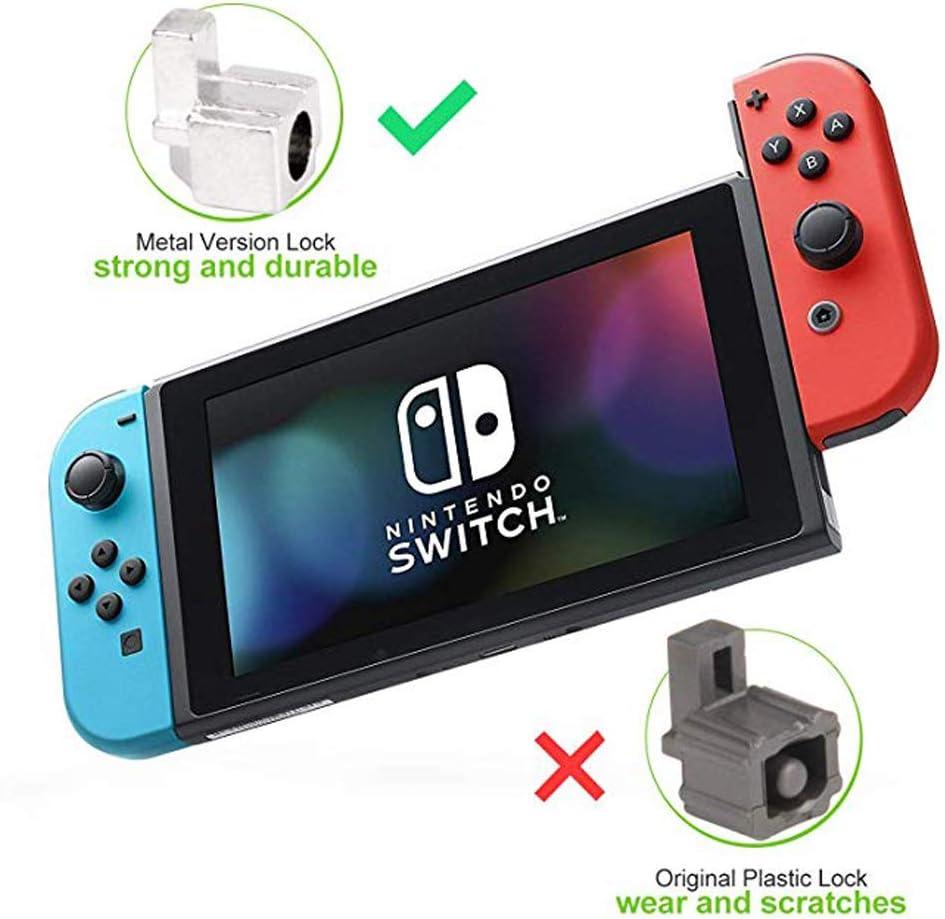 Onyehn 1 juego de herramientas de reparación de hebillas de metal para Nintendo Switch Joy-Con controlador con destornilladores, pinzas, resorte de hebilla de bloqueo, tornillos Y + tornillos: Amazon.es: Videojuegos