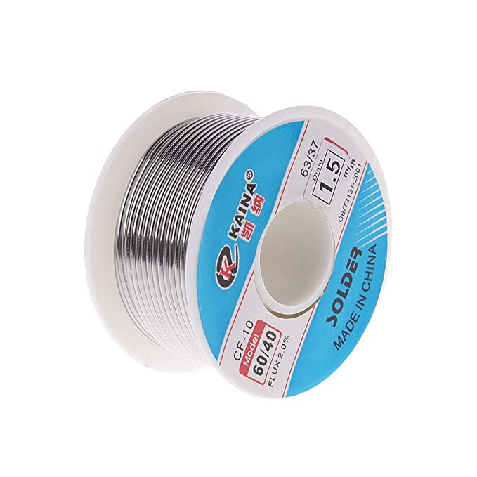 1.5mm 100g 60//40 Rosin Core Tin Lead Solder Wire Soldering Welding Flux 2.0/%