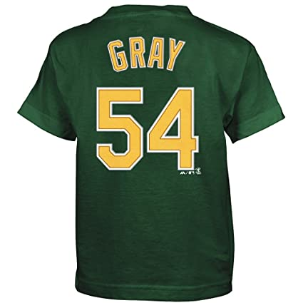 separation shoes 8ef6d ce0a6 Image Unavailable. Image not available for. Color  Outerstuff Sonny Gray  Oakland Athletics MLB Majestic ...