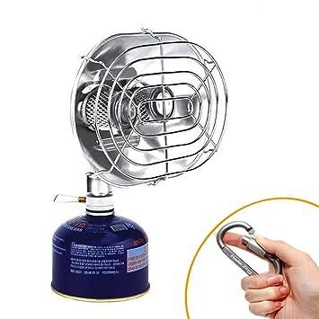 BRS Calefactor de camping BRS estufa de calefacción al aire libre de rayos infrarrojos estufa de quemador doble calefactor de gas: Amazon.es: Deportes y ...