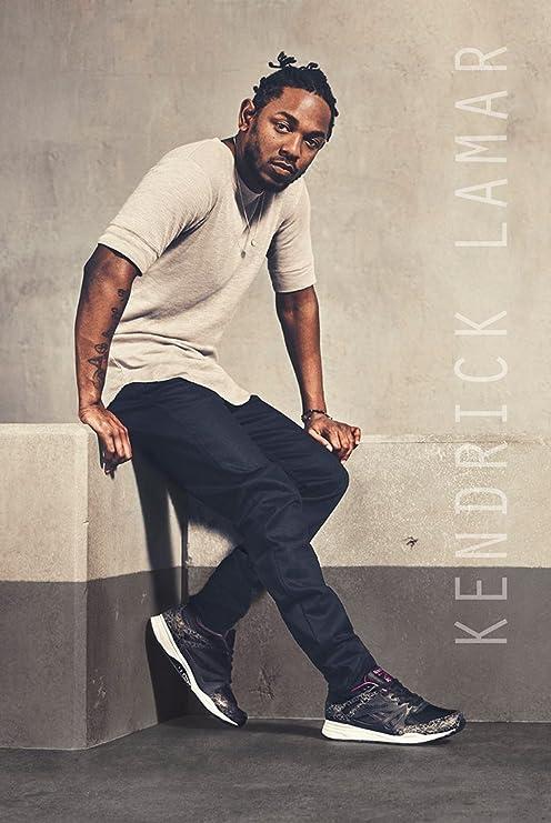 W694 Art Kendrick Lamar and J Cole Rapper Music Star Poster 24x36in