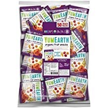 YumEarth Organic Fruit Snacks, 50 snack packs