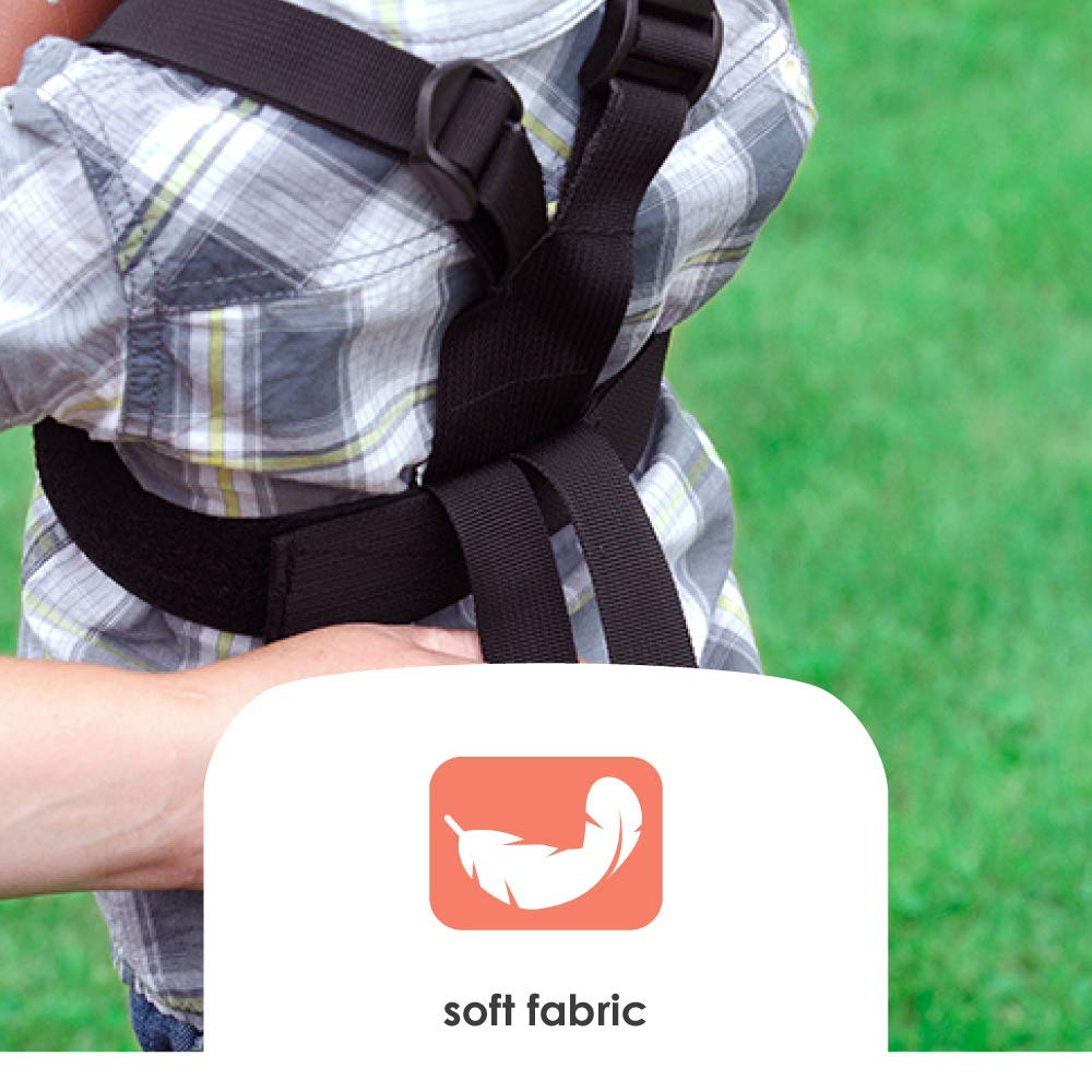 Ultra Secure Child Safety Harness Allows Toddler to Freely Explore while Keeping Close By Diono Harness Sure Steps Black