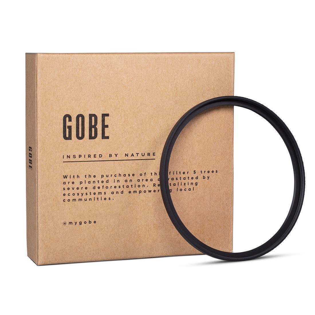Gobe UV 49mm Schott 16-Layer Multi-Resistant Coated Ultra Violet Filter by Gobe