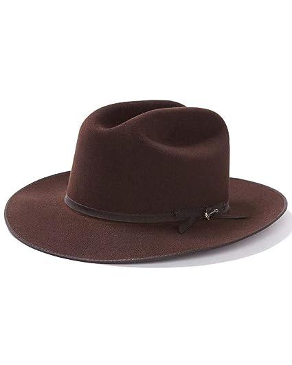 06695d393ec Stetson Men s 6X Open Road Fur Felt Cowboy Hat at Amazon Men s Clothing  store