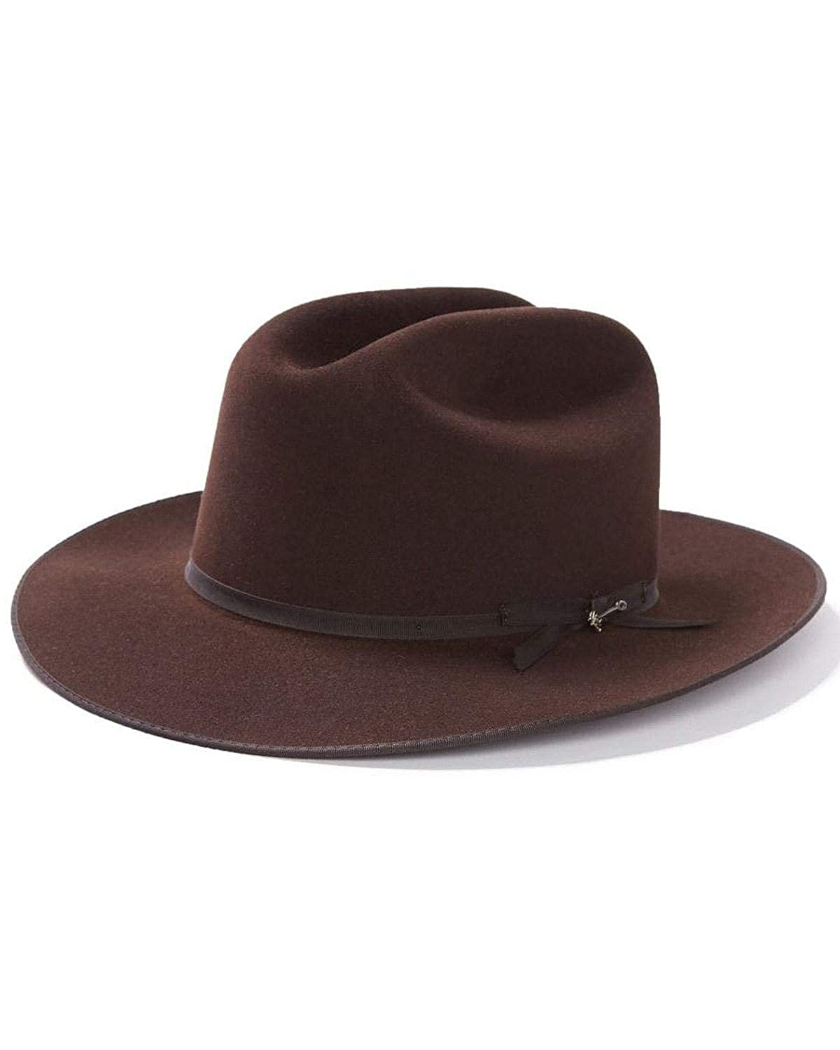 1d9c7f80d2202 Stetson Men s 6X Open Road Fur Felt Cowboy Hat at Amazon Men s Clothing  store