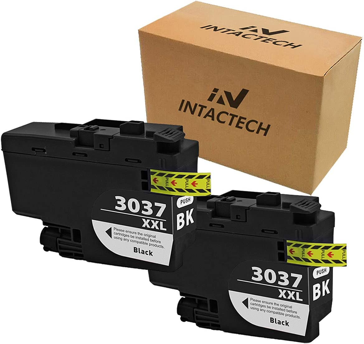 MFC-J6545DW BCMY, 4 Pack MFC-J5945DW ZET Remanufactured Ink Cartridge Replacement for Brother LC3037 XXL LC3037BK LC3037C LC3037M LC3037Y Used in Brother MFC-J5845DW MFC-J6945DW Printers