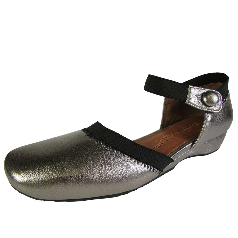 Gentle Souls Womens ISO Jane 2 MT Ankle-Strap Flat Shoe