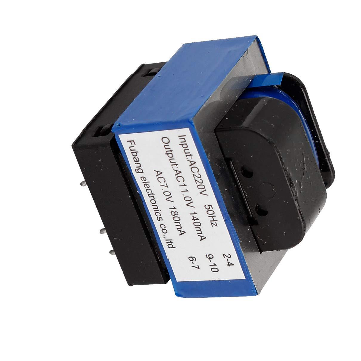 Aexit CA 220V a 11V / 7V 140mA / 180mA transformador de ...
