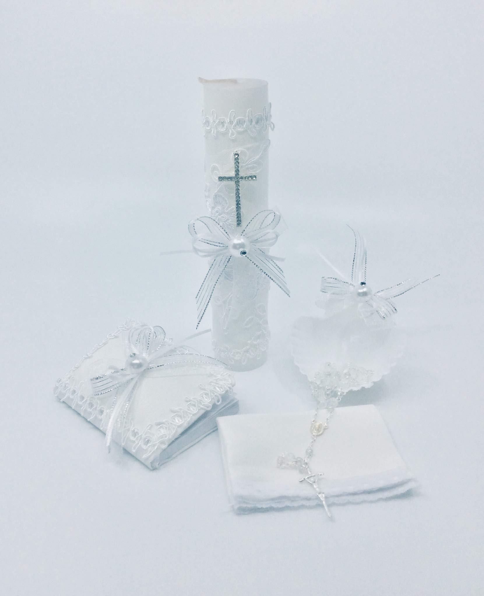 Casa Ixta Baptism Candle Set