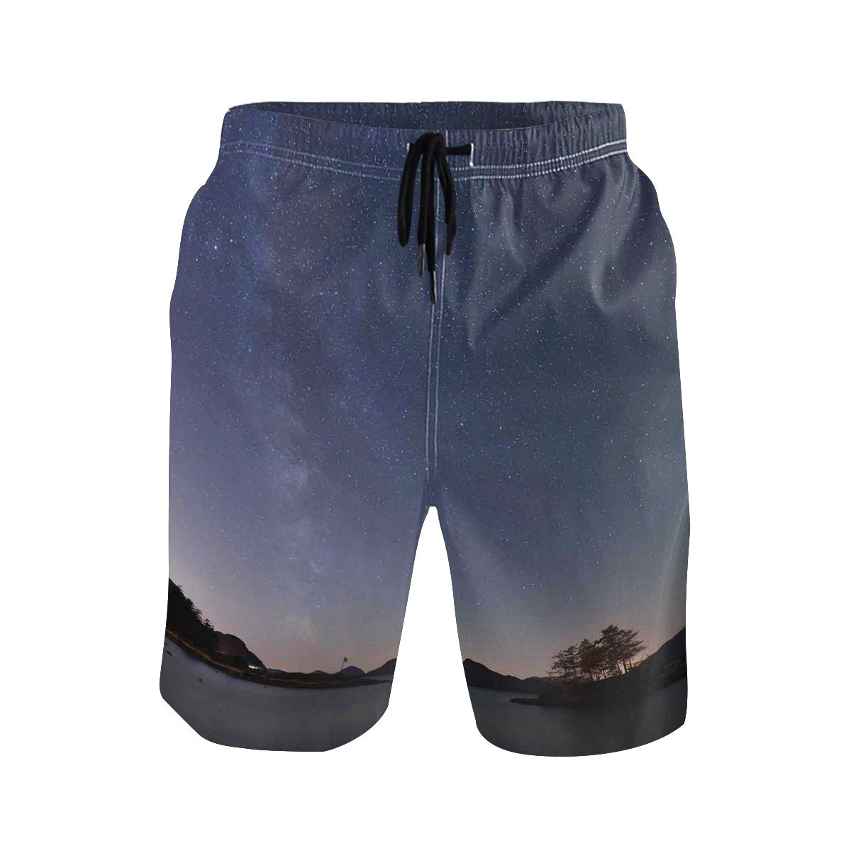 KVMV Star Fish Underwater Background Quick Dry Beach Shorts
