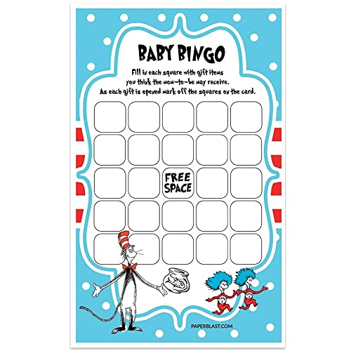 Dr Seuss Baby Shower Game