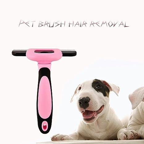 Easy Lifer mascotas perro y gato deshedding Herramientas y cepillo Cuidado, larga y corta pelo