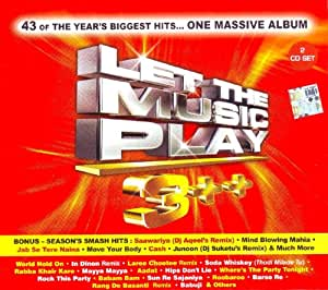 Let The Music Play 3++(Disc 1 & 2) (Remixes / Bollywood Movies Songs / Hindi Music)