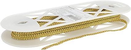 5//16-Inch Wrights Metallic Scroll Gimp Gold