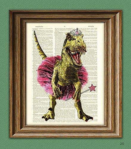 - Dinosaur In Ballerina Outfit