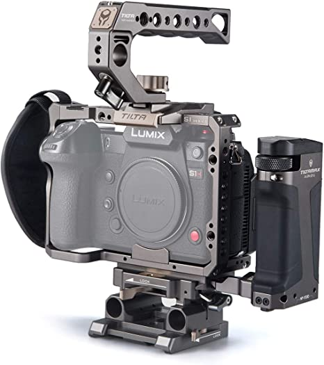 and S1H Cameras Tilta Gray for The Panasonic S1 S1R Tiltaing TA-T38-A-G Panasonic S Series Kit A