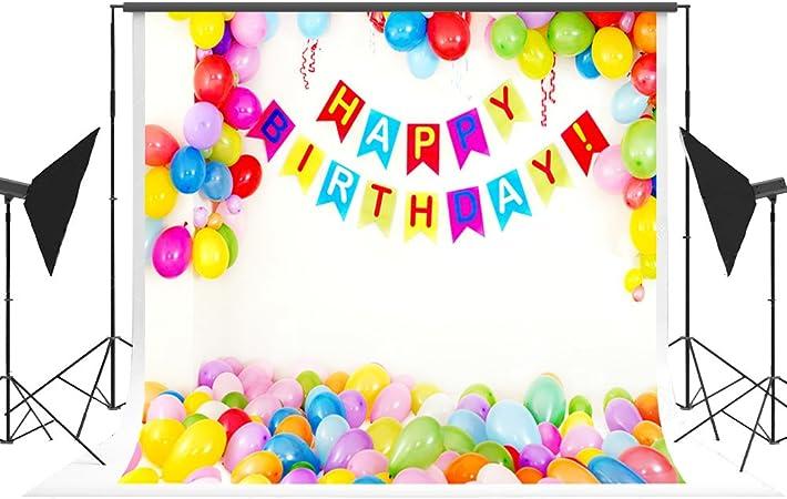 Geburtstag Foto Hintergrund Kinder Ballon Hintergrund Kamera