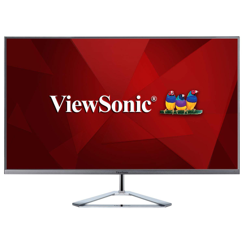 ViewSonic VX3276-MHD 32'' 1080p Frameless IPS Monitor with Screen Split Capability HDMI and DisplayPort (Renewed)