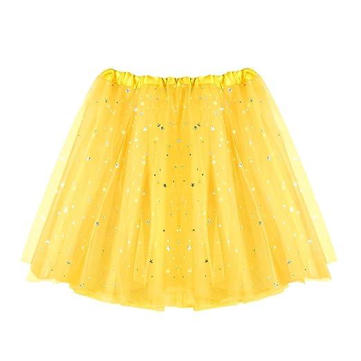 Covermason Minifalda Cóctel Fiesta Lentejuela - Falda Corta De ...